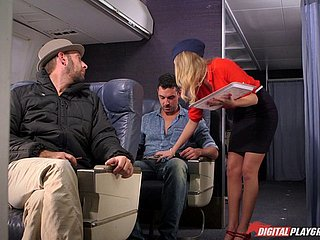 Hurtful flight related Alexis Adams bonking superior to before the plane