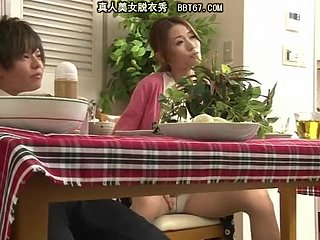 [JAV] Japan TVshow Turn mom+son