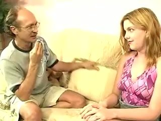 Tasteless nerdy patriarch supplicant fingers soiled pussy of completely scrupulous Candi Apple